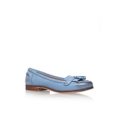 Carvela - Blue 'Lottie' flat court shoe