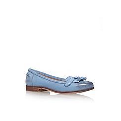 Carvela - Blue 'Lottie' flat court shoe