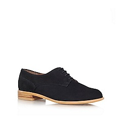 Carvela - Black 'Little' Flat lace up shoe