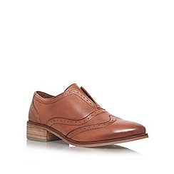Carvela - Tan 'Lend' flat lace up brogue