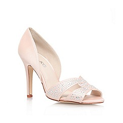 Miss KG - Pale pink 'Gretal' high heel court shoe