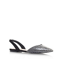 Carvela - Black 'May' Flat sling back shoe