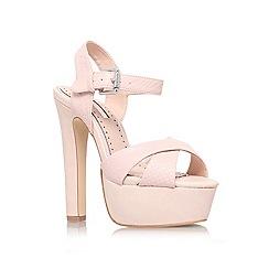 Miss KG - Nude 'Felicity' high heel platform sandal