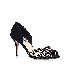 Miss KG - Black 'Phillipa' Mid Heel Court Shoes