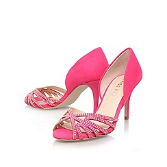 Miss KG - Pink 'phillipa' high heeled slip on sandal