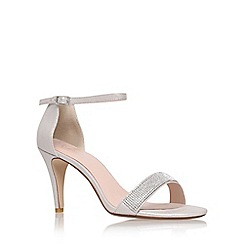 Carvela - Silver 'Kiwi' high heel sandals