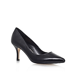 Carvela - Black 'KRYSTAL' Mid heeled court shoe