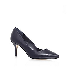 Carvela - Navy 'KRYSTAL' Mid heeled court shoe