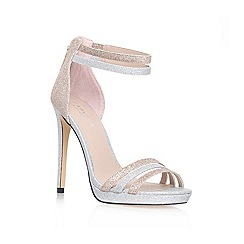 Carvela - Metal Comb 'KINGDOM' high heeled ankle strap court