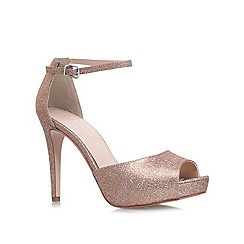 Carvela - Bronze 'Leona' High heel court shoe