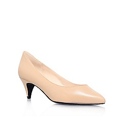 Nine West - Nude 'Cassy' Leather heel