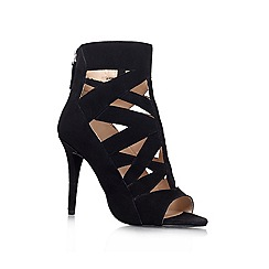 Nine West - Black 'DELFINA' High heeled shoe boot