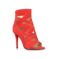 Nine West - Red 'Delfina' high heeled courts