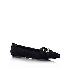 Carvela - Black 'MARGO' Flat slip on court