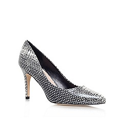 Carvela - Blk/White 'KIRSTY' High heeled court shoe