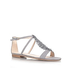 Nine West - Grey 'Zirysa2' flat Sandal