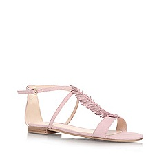 Nine West - Pale Pink 'ZIRYSA2' Flat strappy sandal