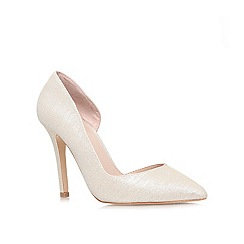 Carvela - Champagne 'Lisbeth' high heel court shoe