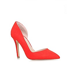 Carvela - Red 'Lisbeth' high heel court shoe