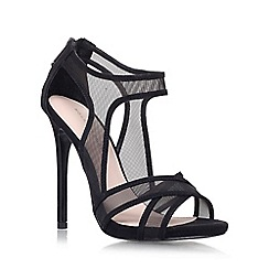 KG Kurt Geiger - Black 'Haze' High heeled sandal