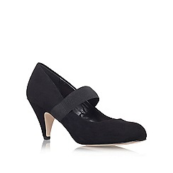 Carvela - Black 'Kam' Mid heel court shoe