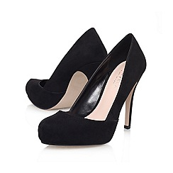 Carvela - Black 'karla' high heeled court shoe