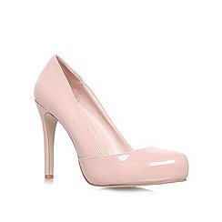 Carvela - Natural 'Karla' High heeled court shoes