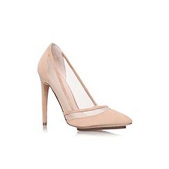 KG Kurt Geiger - Nude 'Harlow' high heel court shoe