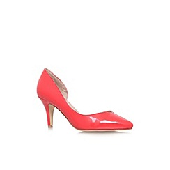 Carvela - Peach 'Carmen' mid heel court shoe