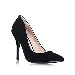 KG Kurt Geiger - Black 'Dita' high heeled court shoe