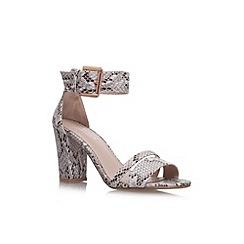 Carvela - Beige comb 'Carly' high heel sandal