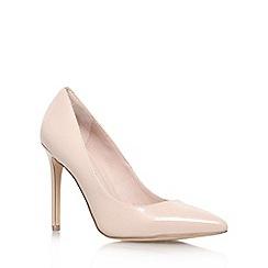 KG Kurt Geiger - Natural 'bailey' high heel court shoes