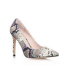 KG Kurt Geiger - Brown 'bailey' high heel court shoes