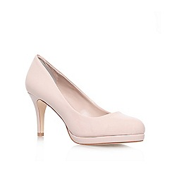 Carvela - Nude 'KILEY' High heeled court shoe