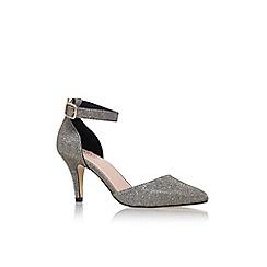 Carvela - Metal 'kandice' mid heel sandal