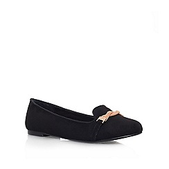 Carvela - Black 'Marlow' Flat slip on
