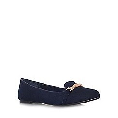 Carvela - Blue 'Marlow' Flat slip on