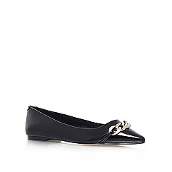 Carvela - Black 'Mabel' Flat slip on
