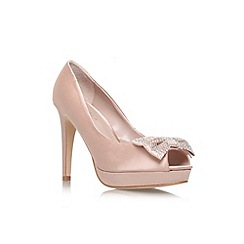 Carvela - Nude 'Jemma' high heel court shoe
