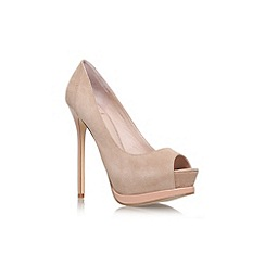 KG Kurt Geiger - Nude 'Emeralds' Court Shoe