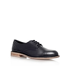 KG Kurt Geiger - Black 'klyde' leather lace up shoe