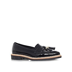 KG Kurt Geiger - Black 'Lucien' flat slip on loafer