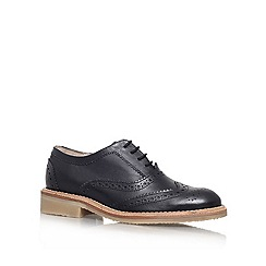 KG Kurt Geiger - Black 'LAKER' Flat lace up brogue
