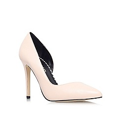 Miss KG - Nude 'Abbie' high heel court shoe