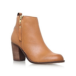 Carvela - Brown 'Tanga' Heel ankle boot