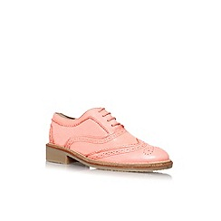 KG Kurt Geiger - Salmon 'Laker' flat lace up brogue