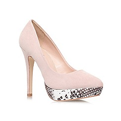 Lipsy - Nude 'Maxine' high heel court shoe