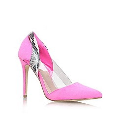 Lipsy - Pink 'juliet' high heel court shoes