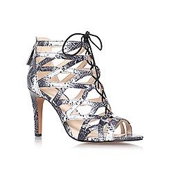 Nine West - Black 'authority3' high heeled strappy sandal