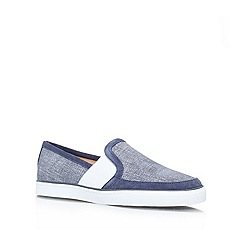 Nine West - Blue 'Bonkers' Flat slip on sneakers